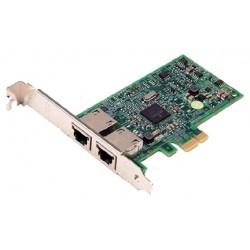 Сетевая плата Dell Broadcom 5720 Dual Port 1GB Ethernet, PCIE 2.0 (54